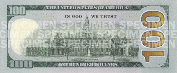 Новая купюра 100 долларов: фото и краткий обзор » Деньги » Миллион ...