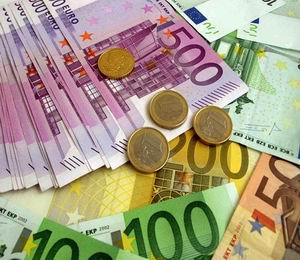 Евро в банках